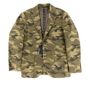 Joe's Men's Two-Button Camo Jacket